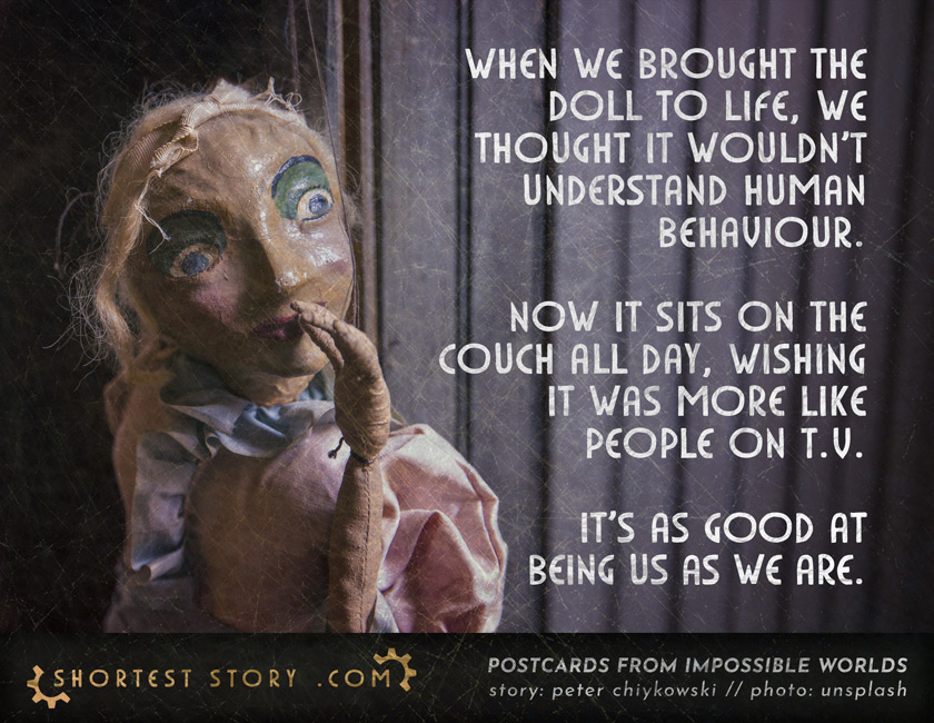 THE DOLL // a creepy short story about dolls becoming human